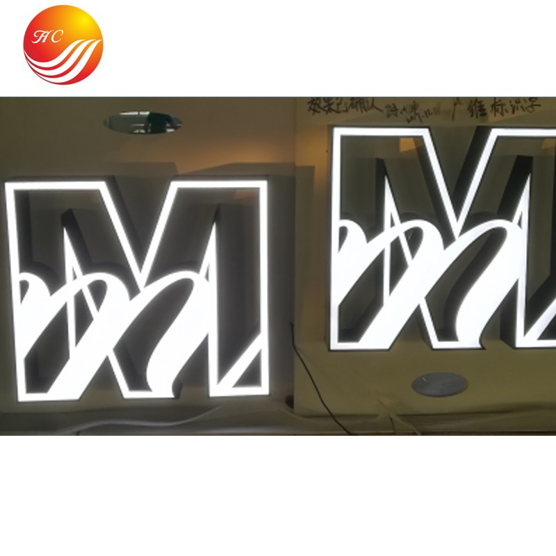 Led Stainless Steel Letter Backlit Acrylic Shop Sign Manufacturers, Led Stainless Steel Letter Backlit Acrylic Shop Sign Factory, Supply Led Stainless Steel Letter Backlit Acrylic Shop Sign