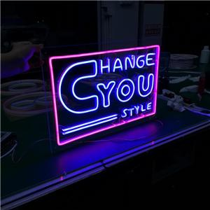 Outdoor Acrylic LOGO Custom LED Neon Sign Letter Word