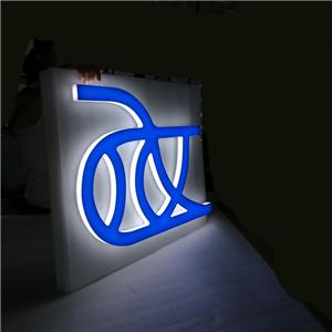 Custom Mini Led Letters Acrylic Letter Signs Logo Sign