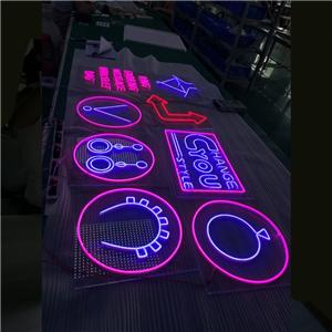 Libreng Disenyo Led Neon Backlit Light Letter Sign