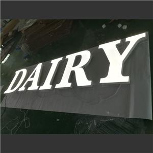 Outdoor Waterproof Acrylic Marquee Led Letters Signs