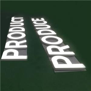 Stainless Steel Signs Led Illuminated Channel Letters