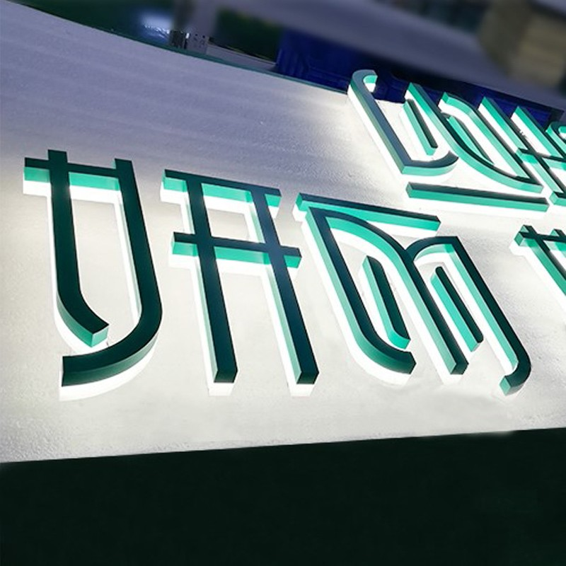 Backlit Led Letter Sign 3d Backlit Channel Letter