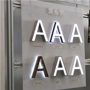 Acrylic Mini LED Channel Letter Sign Acrylic Signage