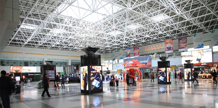 Haichen technology creates a new image of Zhuhai airport with creativity