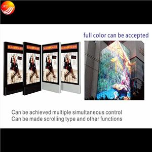 Frameless Frame Advertising Dynamic Flashing Light Box