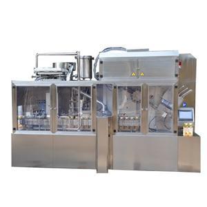 Whipping Cream Box Filling Machine