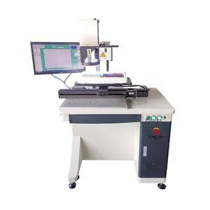 CCD ویژوال لیزر مارک ماشین برای کوچکتر محصولات میکرو چیپس بدون مارک، نمادها