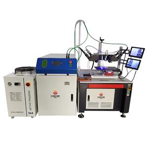 Automatic Laser Welding Machinery with Double Laser Welding Head