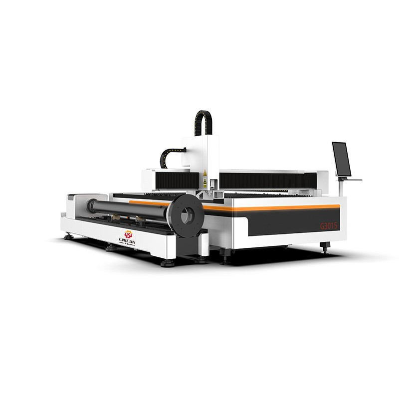 3000*1500mm Fiber Laser Cutting Machine for Metal Sheet and Pipe Cutting