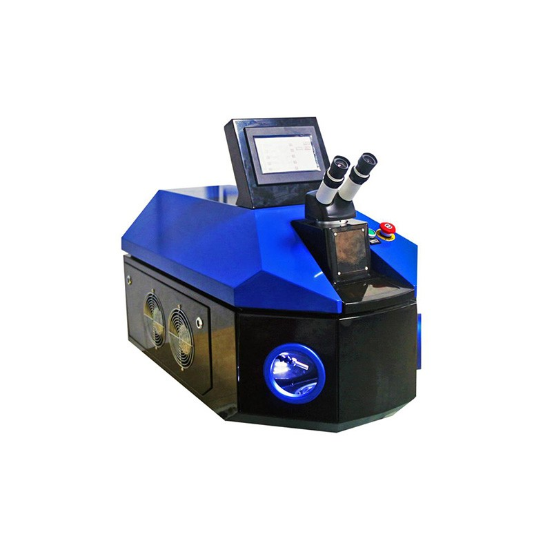 Portable Desktop Gold Silver Jewelry Laser Welding Machine System with Precise Jewelry Welding