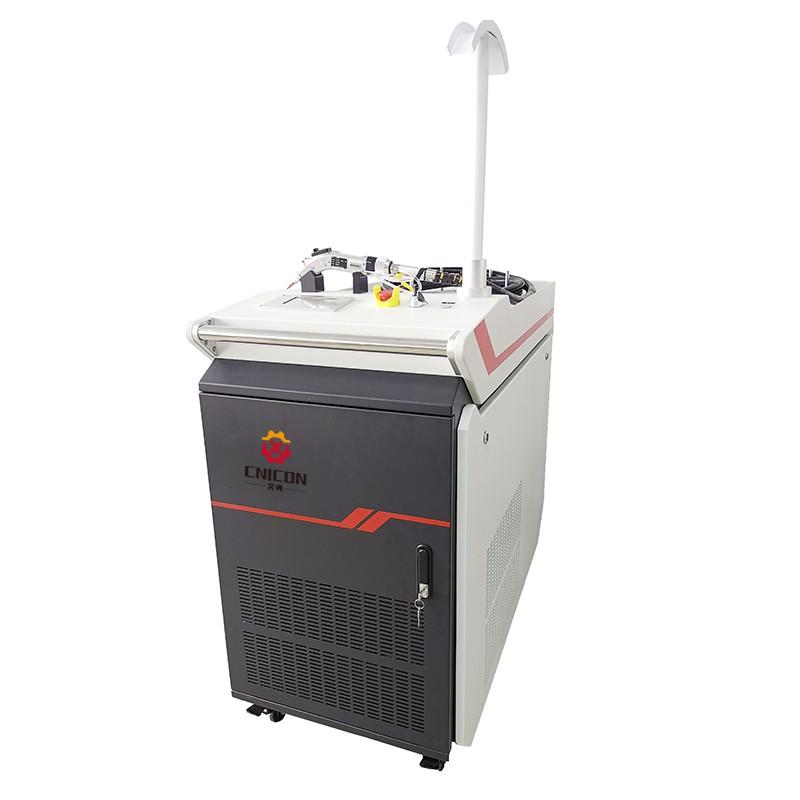 Характеристика на ръчна машина за лазерно заваряване
