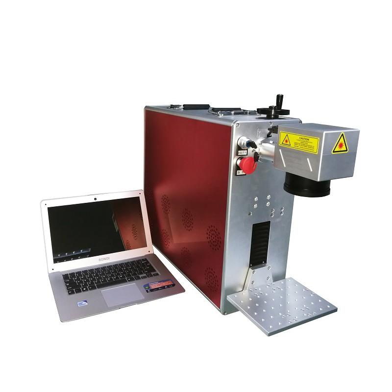 Fiber Laser Metal Engraver Marking Machine