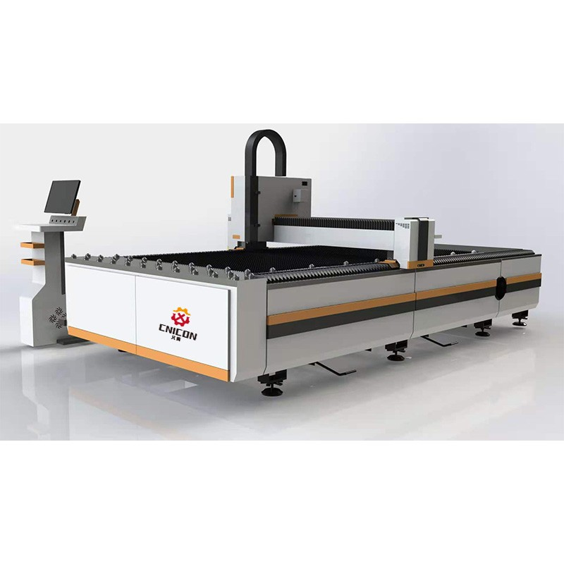 High Accuracy CNC Laser Cutting Machine for Sheet Metal Stainless Fabrication