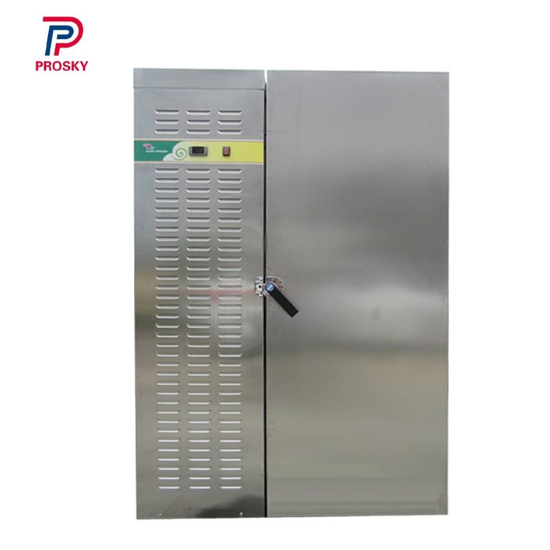 100 Kg Per Hour Compressor Trolley Blast Freezer
