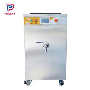 Touch Screen Juice Batch Pasteurizer