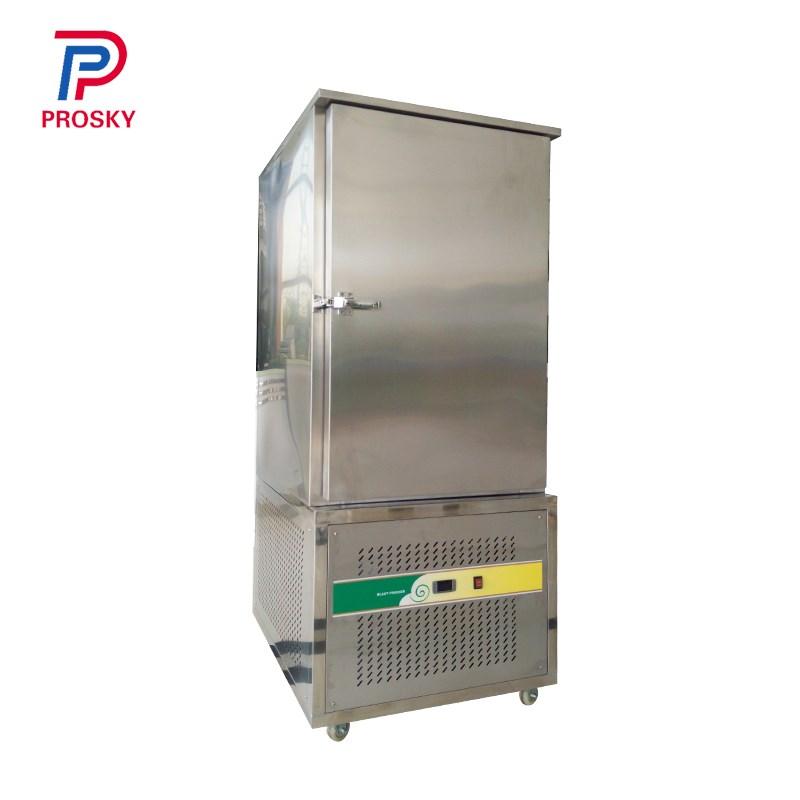 304 Stainless Steel Compressor Ice Cream Quick Freezing Machine