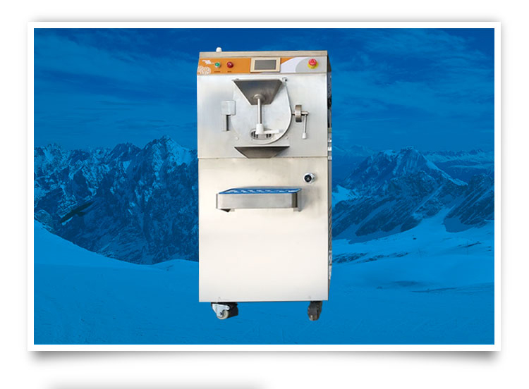 7L hard ice cream machine