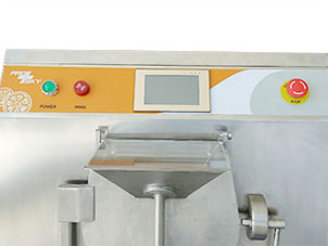 touch screen hard ice cream machine