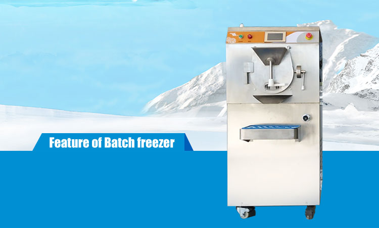 italian hard ice cream machine