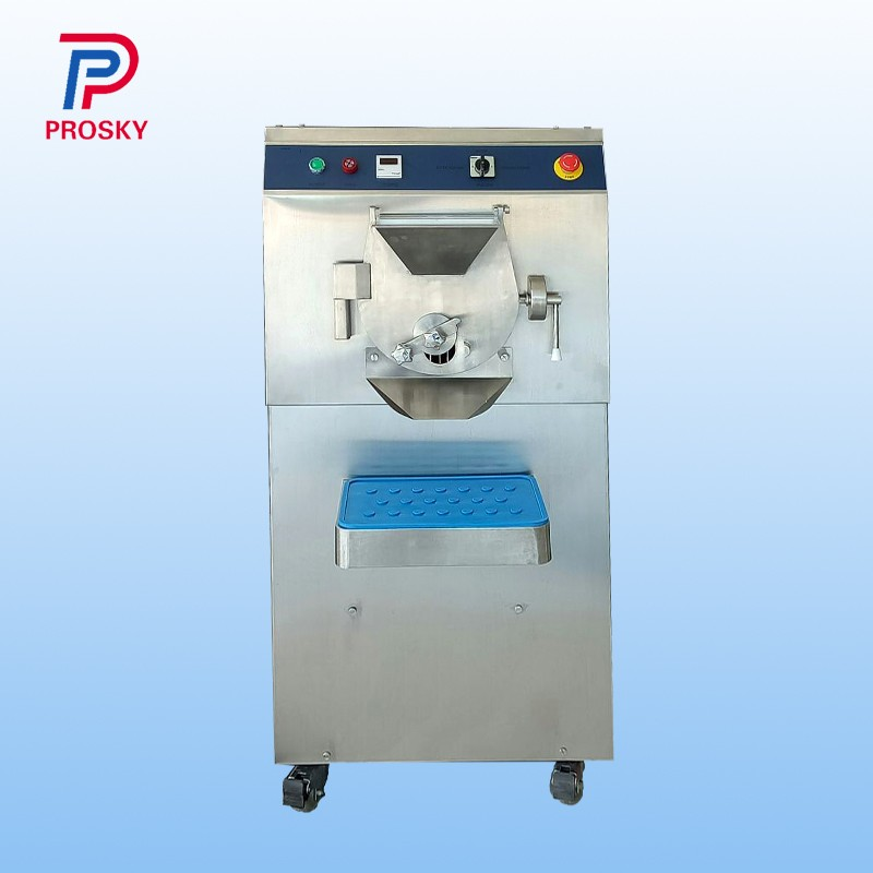 60HZ Water Cooling Hard Ice Cream Making Machine