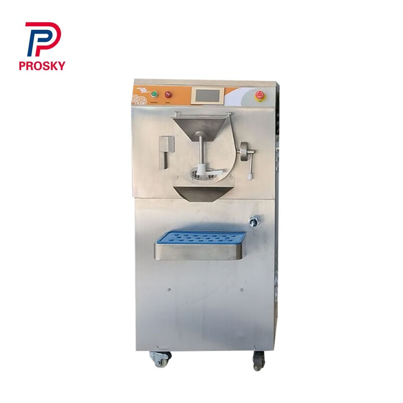 Italian Gelato Ice Cream Making Machine