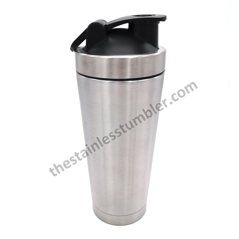Stainelss Steel Double Wall Classic Insulated 25oz Ice Shaker With Ball