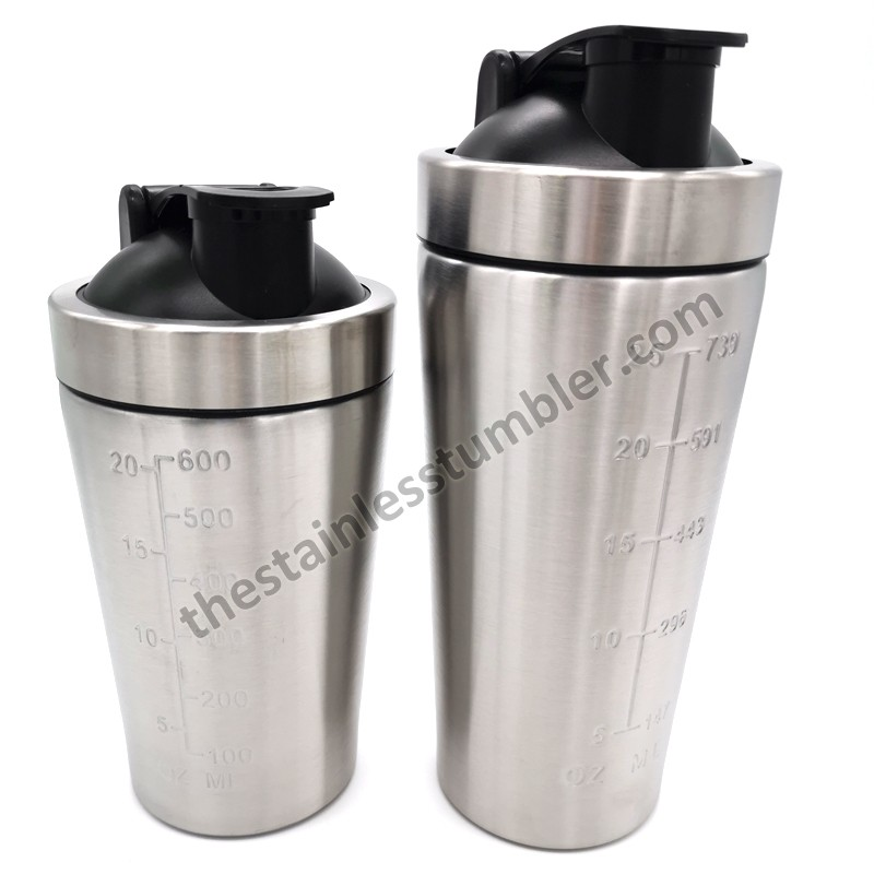 25oz Stainless Steel Top Protein Bottle Shaker Cup With Lid And Black Ball Manufacturers, 25oz Stainless Steel Top Protein Bottle Shaker Cup With Lid And Black Ball Factory, Supply 25oz Stainless Steel Top Protein Bottle Shaker Cup With Lid And Black Ball