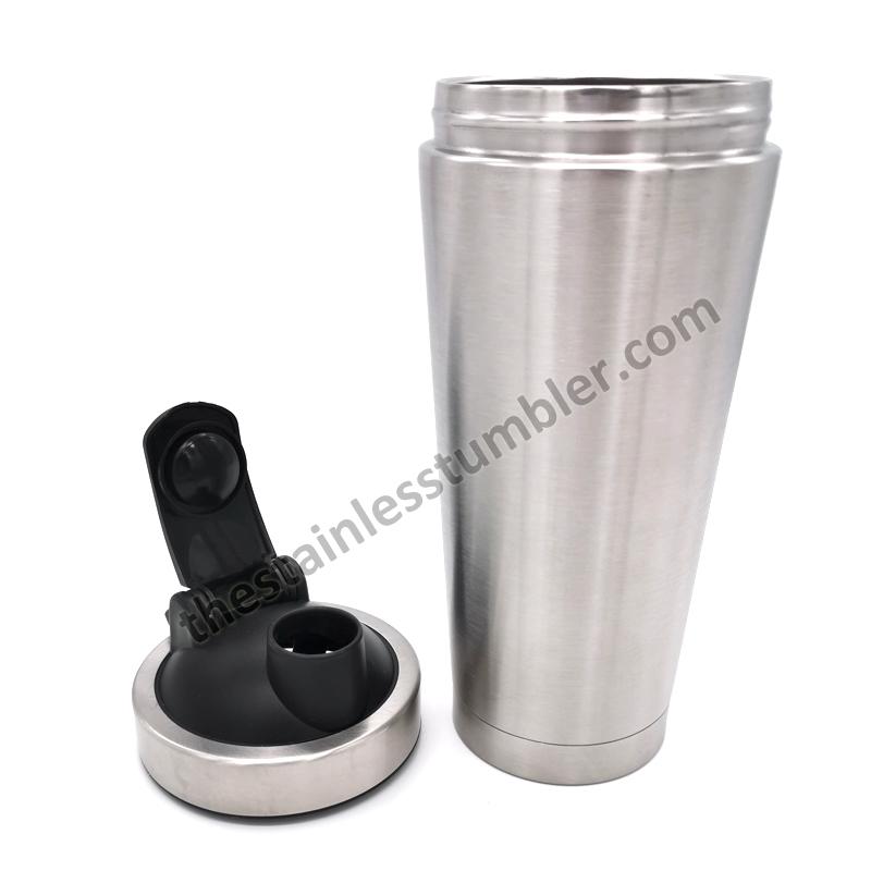 25oz shaker black lid