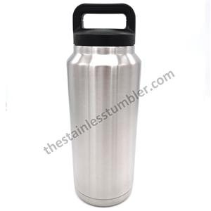 Wide Mouth Stailess Steel Double Wall Insulated 18oz Water Bottle