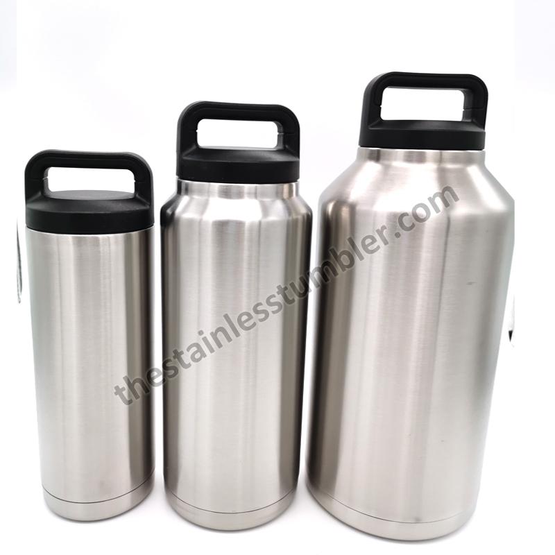 stainless steel bottles 64oz