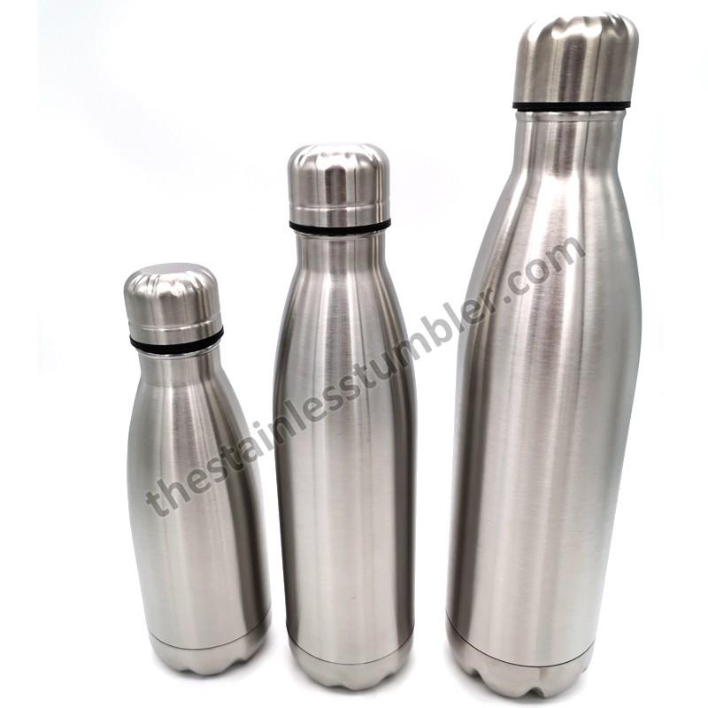 Stainless Steel Vacuum 12oz Coke Cola Bottle