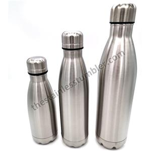 Stainless Steel Vacuum 12oz Coke Cola Bottle