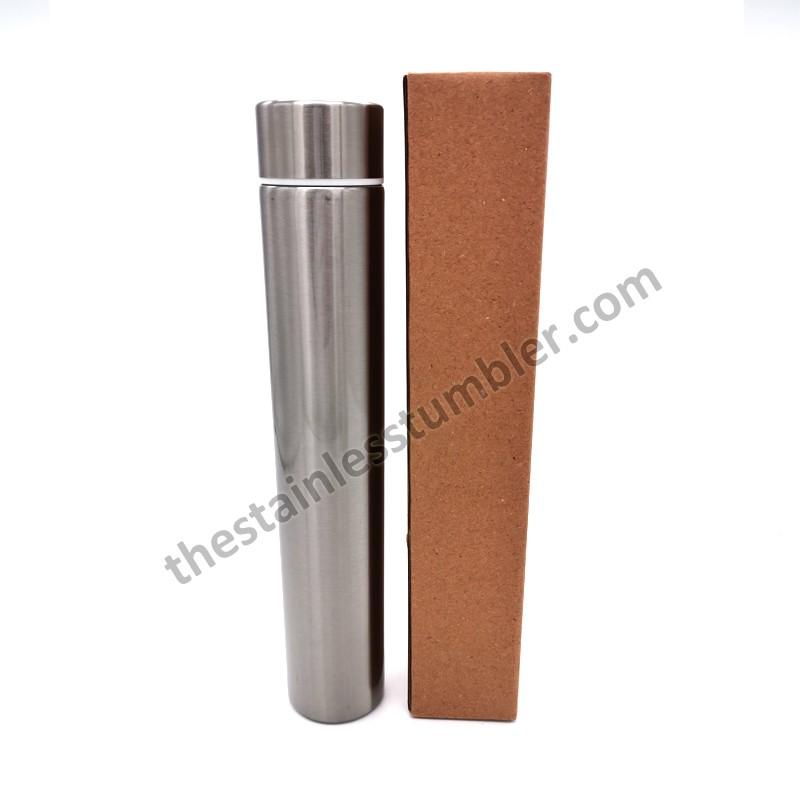 9oz Stainless Steel Insulated Skinny Slim Flask Bottle Skinny Tumbler