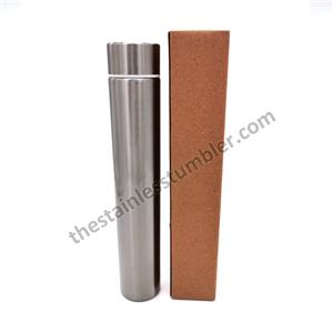 9oz Stainless Steel Insulated Skinny Slim Flask Bottle Skinny Tumbler
