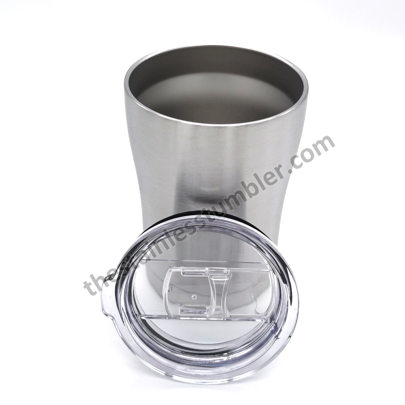 stainless steel curvy tumbler 12oz