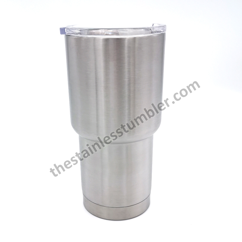 stainless steel curved tumbler