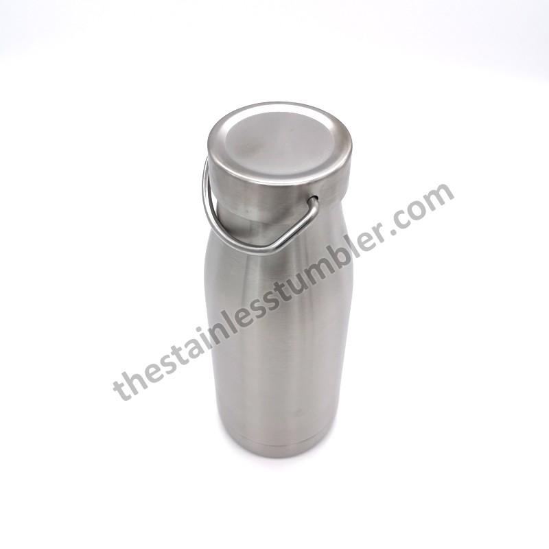 12oz rostfritt stål mjölkflaska mjölkburk mjölk kanna mjölk skummande kanna
