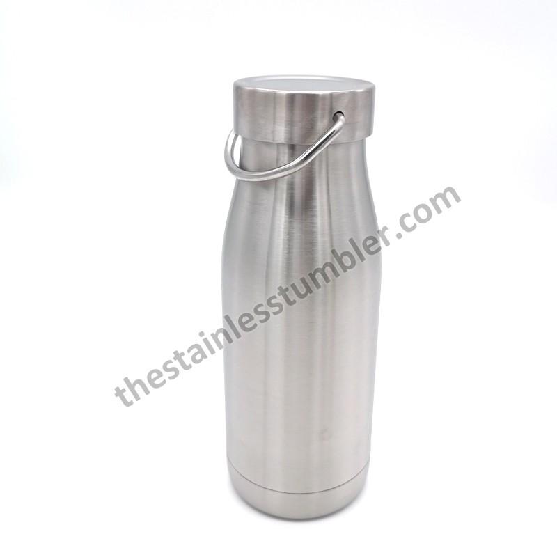 Bedste 12 oz rustfrit stål mælkeflaske mælkekande mælkekande mælk skumkande selskabets pris