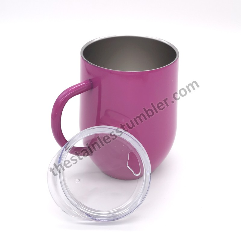 12oz Stainless Steel Egg Shape Coffee Mug Cup For Coffee Manufacturers, 12oz Stainless Steel Egg Shape Coffee Mug Cup For Coffee Factory, Supply 12oz Stainless Steel Egg Shape Coffee Mug Cup For Coffee