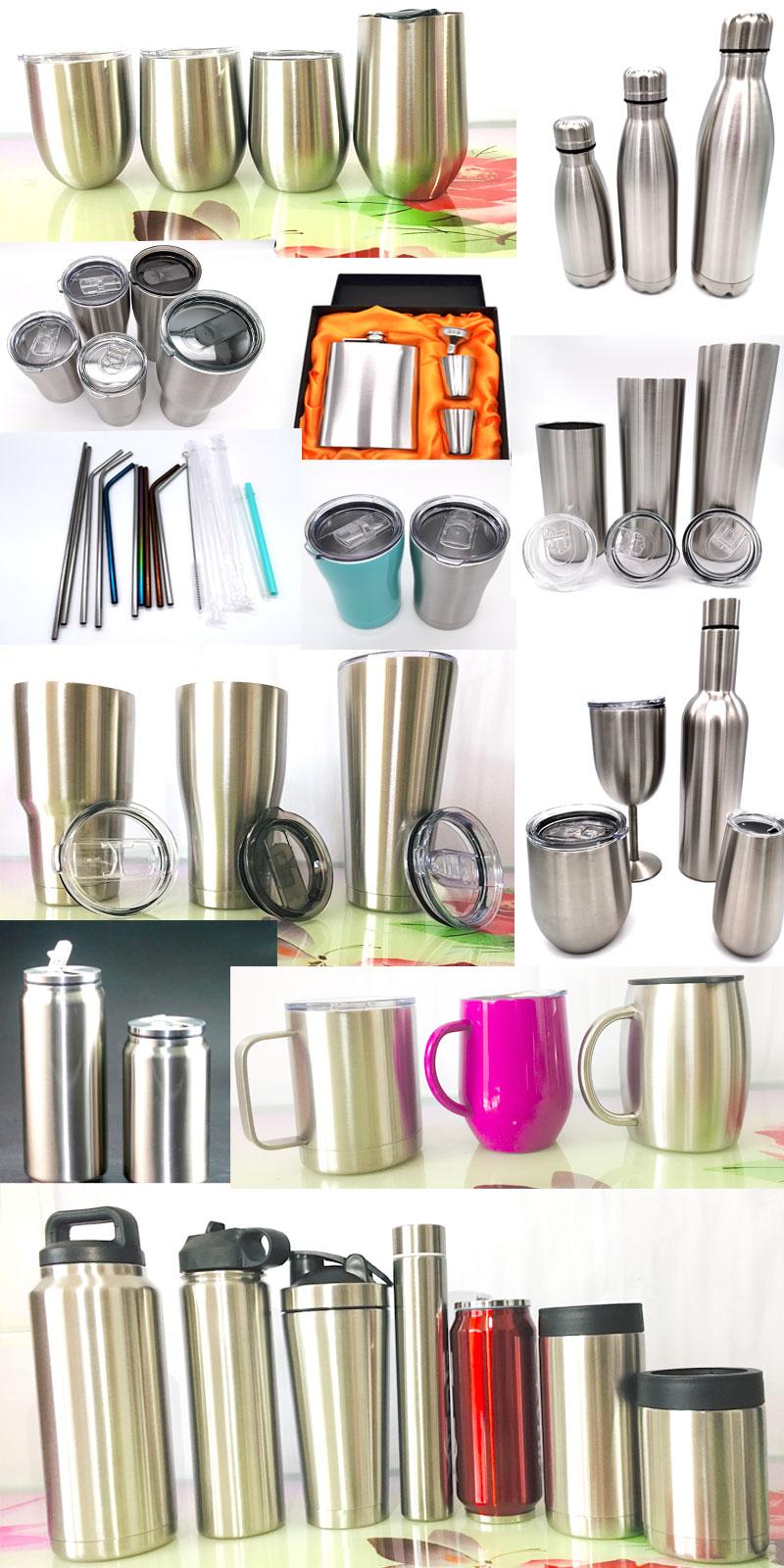 stainless steel egg shape coffee mug