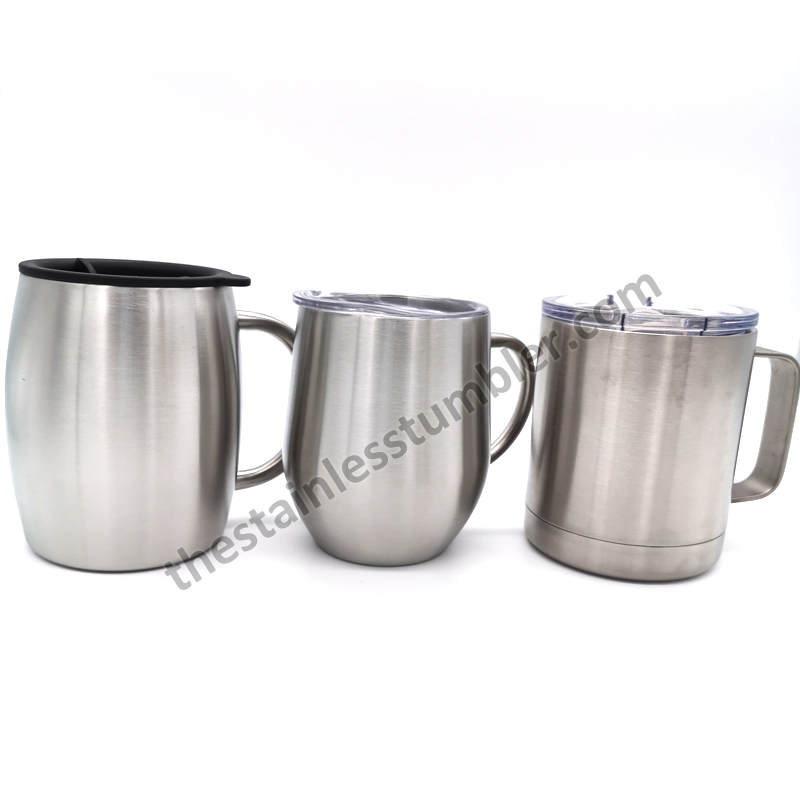 10oz stainless steel coffee mug