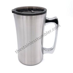 20oz 560ml Stainless Steel Beer Mug Beer Cup With Lid
