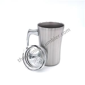 16oz 450mlstainless Steel Beer Mugs With Lid
