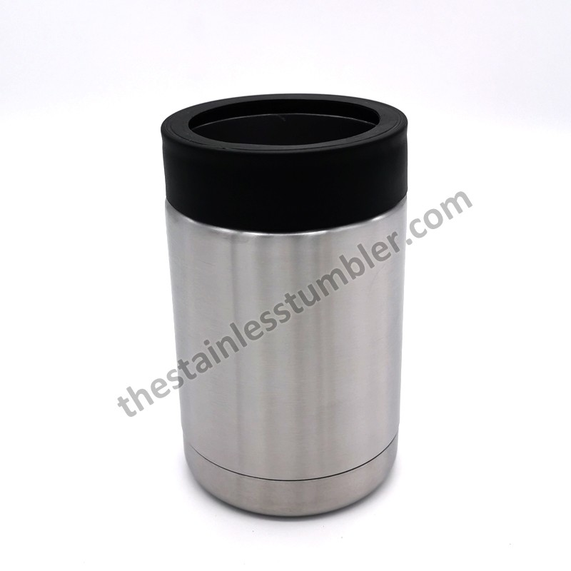 12oz Stainless Steel Beverage Can Insulator Can Cooler Koozie Beer Holder