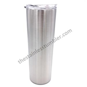 20oz Stainless Steel Vacuum Insulated Skinny Tumbler With Sliding Lid