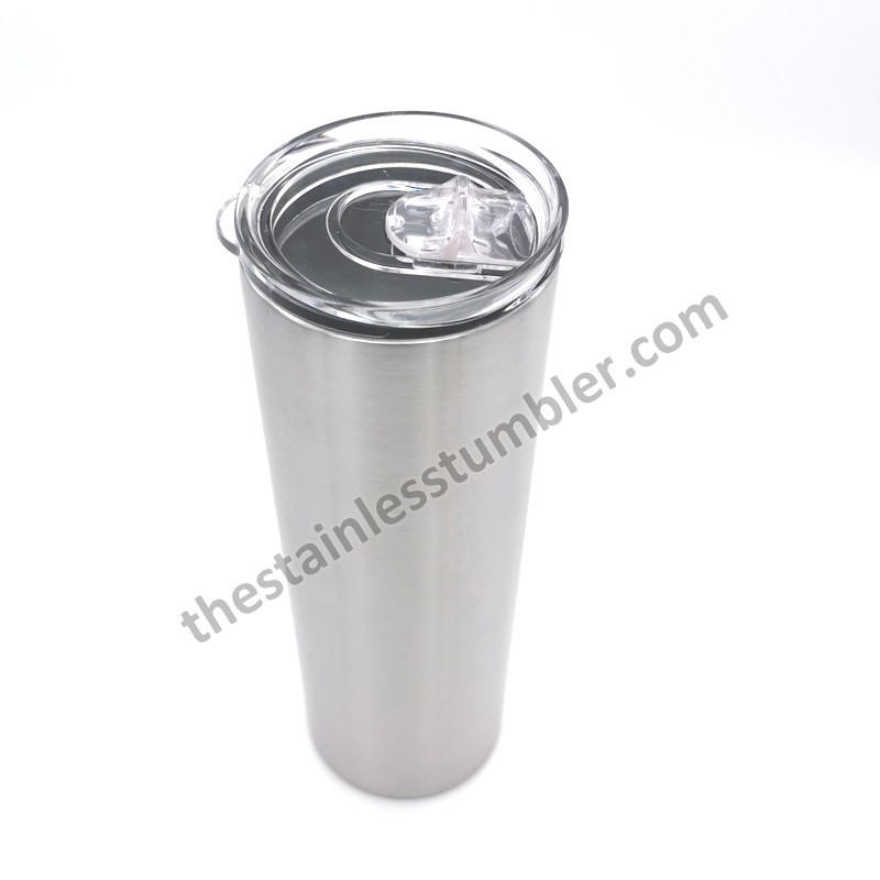 20oz Stainless Steel Vacuum Insulated Skinny Tumbler With Sliding Lid Manufacturers, 20oz Stainless Steel Vacuum Insulated Skinny Tumbler With Sliding Lid Factory, Supply 20oz Stainless Steel Vacuum Insulated Skinny Tumbler With Sliding Lid