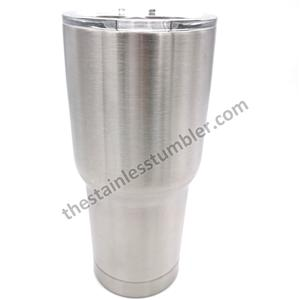 24oz Blank Stainless Steel Curved Curvy Tumbler With Sliding Lid