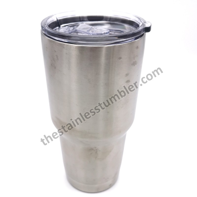 30oz Stainels Steel Double Wall Insulated Tumbler With Upgrade Sliding Lid