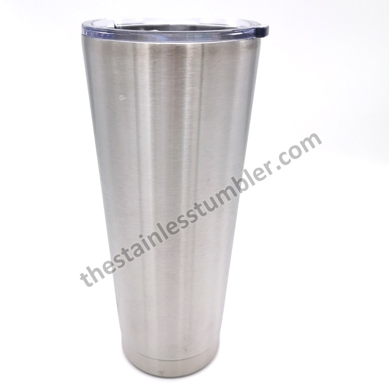 32oz Stainless Steel Double Wall Insulated Tumbler With Upgrade Sliding Lid